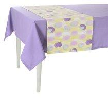 """Дорожка на стол """"Flutter"""", P515-8367/3, 40х140 см, цвет фиолетовый - Apolena"""