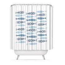 Штора для ванной комнаты Mediterran, цвет белый - D'casa