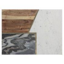 Доска сервировочная Elements из мрамора, камня и акации 40х30 см - Typhoon