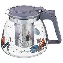 Заварочный Чайник Agness С Фильтром Коты 900 Мл. - Dalian