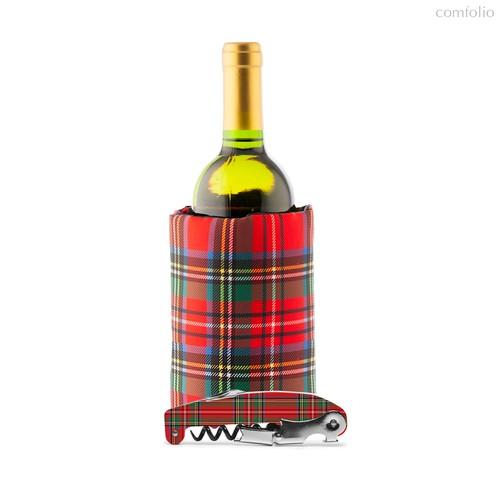 Набор для вина Tartan, цвет красный - Koala