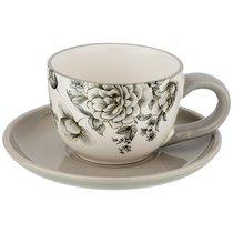 Чайный Набор На 1 Персону Вдохновение 15x15 см Высота 7 см / 220 мл - Huachen Ceramics