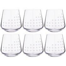Набор стаканов из 6 шт. SANDRA 290 мл ВЫСОТА 9 см - Crystalex