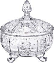 Конфетница С Крышкой Muza Crystal Диаметр 17 см Высота 21 см - Dalian