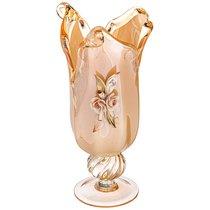 Ваза White Cristal Honey Tulipano Высота 35 см - White Cristal