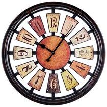 Часы Настенные Кварцевые Рулетка Диаметр 50 см Диаметр Циферблата 44 см Цвет: Антик - Arts & Crafts