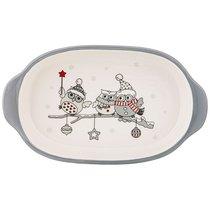Блюдо Для Слоеных Салатов Коллекция Совята 28,7x17x5 см - Zhenfeng Ceramics