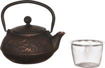 Заварочный Чайник Чугунный С Эмалированным Покрытием Внутри 1200 Мл - NINGBO GOURMET