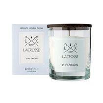 Свеча ароматическая в стекле круглая Lacrosse Кислород 40 ч - Ambientair
