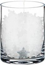 Свеча Эдельвейс Диаметр 12 см.Высота 15 см. - Schlittler & Co.