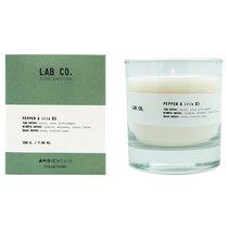 Свеча ароматическая LAB CO, Розовый перец и ирис, 40 ч - Ambientair