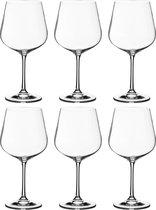 Набор бокалов для вина из 6 шт. DORA/STRIX 600 мл ВЫСОТА 22 см (КОР 1Набор.) - Crystalite Bohemia