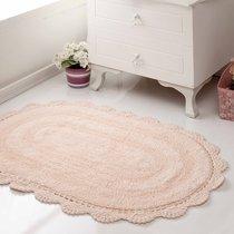 Коврик для ванной Diana, кружевной, цвет персиковый, 50x80 - Bilge Tekstil