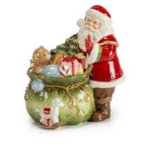 """Шкатулка Lamart """"Санта с подарками"""" 19см - Lamart"""