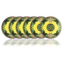 """Набор из 6 тарелок десертных Rosenthal Versace """"Мир джунглей"""" 17см - Rosenthal"""