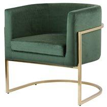 Кресло Rufus, темно-зеленое - Berg