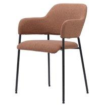 Кресло Wendy, рогожка, терракота - Berg