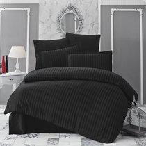 Постельное белье Karna Perla, бамбук, цвет черный, 2-спальный - Bilge Tekstil