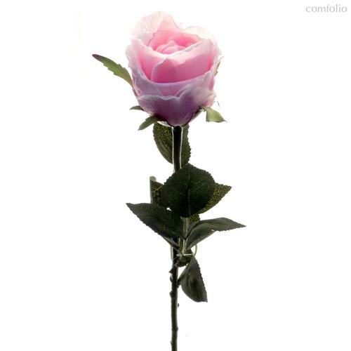 Роза Богема сиреневая 65 см живое прикосновение (24 шт.в упак.) - Top Art Studio