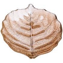 Блюдо Luster Leaf Amber 21см Без Упаковки