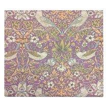 """Штора с рисунком """"Вечерняя серенада"""", P428-1901/11, 160х270 см, цвет фиолетовый, 160x270 - Altali"""