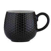 Чашка Embossed 350 мл черная - Mason Cash