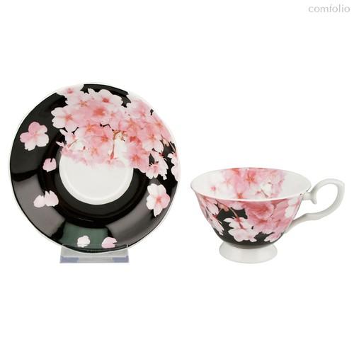 Чайная пара Цветение Сакуры 180 мл (наб 2 пары) - Top Art Studio