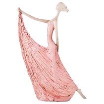 Статуэтка Пастель 21,5x6x30 см, цвет розовый - Lefard
