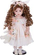Кукла Фарфоровая Декоративная Высота 48 см - Reinart Faelens
