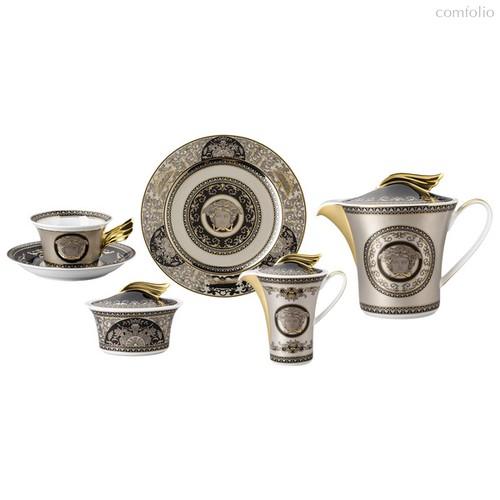 """Тет-а-тет чайный 2/9 """"Медуза серебряная"""" - Rosenthal"""