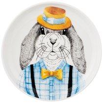 Тарелка Закусочная Fashion Animals Заяц, 19см - Jinding