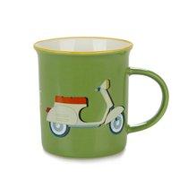 Кружка Ride 320мл, цвет зеленый - Balvi