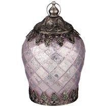 Светильник С Led-Подсветкой И Металл.Декором, Д 10 см, В 14,5 см, Розовый - Comego
