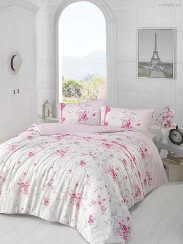 Постельное белье Ranforce Duru, цвет сиреневый, размер 1.5-спальный - Altinbasak Tekstil