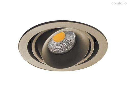Donolux Lumme Светильник встраиваемый, MR16, макс.50Вт, GU10, IP20, Шампань/черный, D110х95 мм, без - Donolux