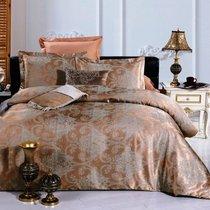 Комплект постельного белья JC-20, цвет коричневый, Семейный - Valtery