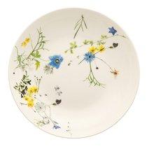 """Тарелка суповая 21см """"Альпийские цветы"""" - Rosenthal"""
