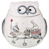 Банка Для Сыпучих Продуктов Совята 650мл 12x12x12,5 см - Zhenfeng Ceramics