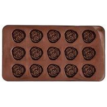 Набор форм для шоколадных конфет и пралине Birkmann Розочки 21x11,5см, силикон, 2 шт (30 конфет)