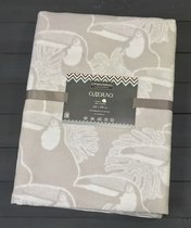 Светло-серый Туканы 5772ВЖК Премиум 212х150 1005 х/б Байковое жаккард Ермолино одеяло, цвет серый - Ермолино