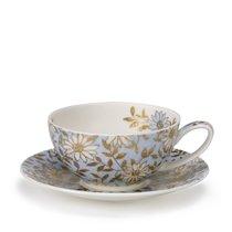 """Чашка чайная с блюдцем Dunoon """"Аква"""" 250мл (Aqua) - Dunoon"""