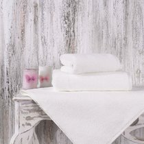 Полотенце Karna Mora, микрокотон, цвет кремовый, размер 50x90 - Karna (Bilge Tekstil)