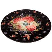 Тортовница Вращающаяся Роскошный Сад Диаметр 32 см Высота 3 см - Shahe City Zhengfang Armored Glass