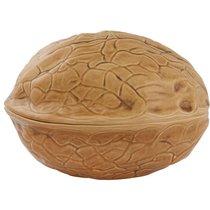 """Блюдо для горячего с крышкой Bordallo Pinheiro """"Орехи. Грецкий орех"""" 32см - Bordallo Pinheiro"""