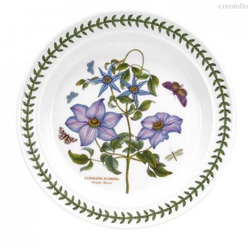 "Тарелка обеденная Portmeirion ""Ботанический сад. Клематис"" 25см - Portmeirion"