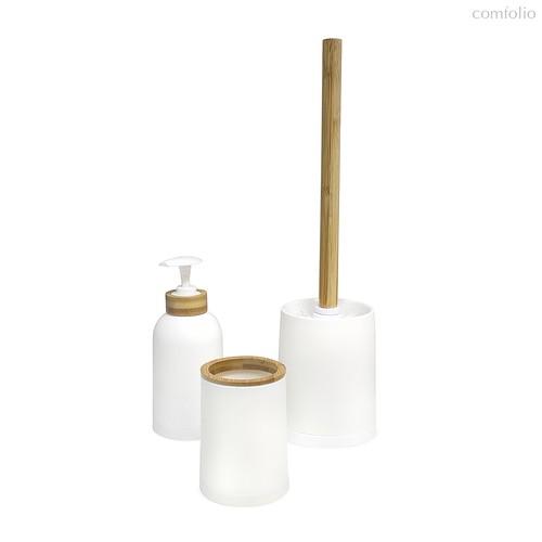Набор для ванной комнаты Zen белый, цвет белый - Balvi