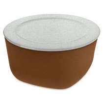 Контейнер для хранения продуктов CONNECT XL Organic 4 л коричневый - Koziol