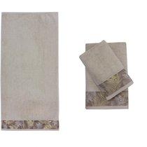 Полотенце банное DIRITTO Beige (бежевый), цвет бежевый, 70x140 - Roseberry