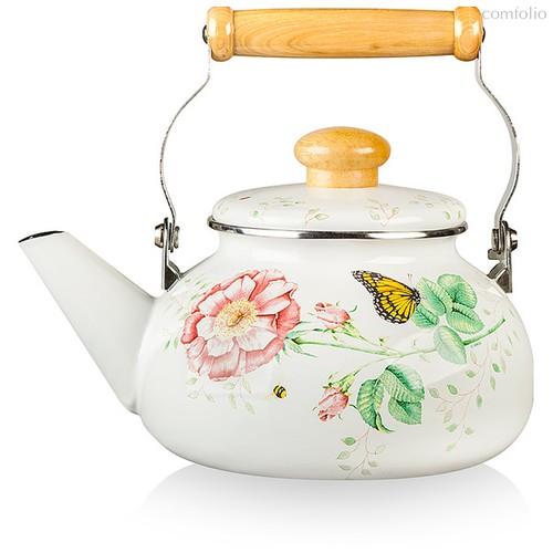 "Чайник Lenox ""Бабочки на лугу"" 2,1л (эмаль) - Lenox"
