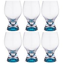 Набор бокалов для ВОДЫ из 6 шт. GINA 450 мл ВЫСОТА 16 см - Crystalex
